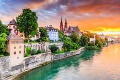Basel, die Schweiz lizenzfreie stockfotos