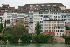 Basel houses Royalty Free Stock Images