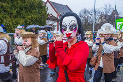 Basel-Karneval 2017 Lizenzfreies Stockfoto
