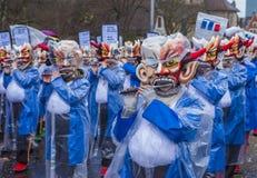 Basel-Karneval 2017 Lizenzfreie Stockfotografie