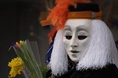 basel karnevalfasnacht switzerland Royaltyfri Foto