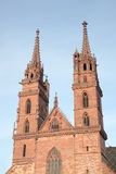 basel katedra Obraz Royalty Free