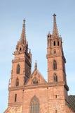 Basel-Kathedrale Lizenzfreies Stockbild
