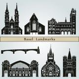 Basel landmarks Royalty Free Stock Images