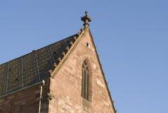 Basel Munster church Stock Photo