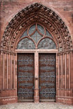 Basel Munster church gate Royalty Free Stock Photos