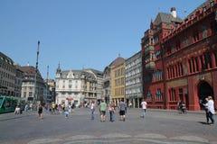 Basel old quarter Royalty Free Stock Photos