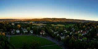 Basel panorama zdjęcie royalty free