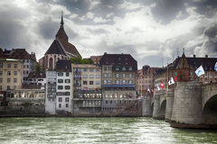 Basel panorama Stock Images