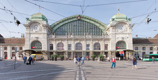 Basel railway station Royalty Free Stock Photo