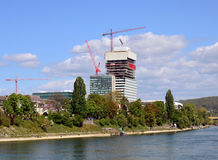 Basel, Roche -/ Fotografia Royalty Free