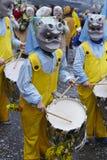 Basel (Schweiz) - karneval 2015 Royaltyfri Fotografi