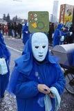 Basel (Schweiz) - karneval 2015 Royaltyfria Foton