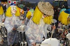 Basel (Schweiz) - karneval 2015 Arkivbild