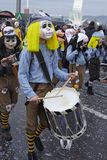 Basel (Schweiz) - karneval 2015 Royaltyfri Foto