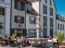 Basel som är schweizisk - Maj 30, 2019 royaltyfria foton