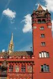 Basel stadshus Royaltyfria Bilder