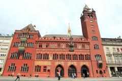 Basel stadshus Arkivbild