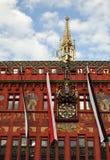 Basel stadshusfacade Royaltyfri Foto