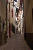 Basel-Straße Stockbild