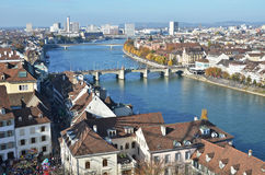 basel switzerland Arkivfoto