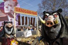 Basel (Switzerland) - Carnival 2014 Royalty Free Stock Image