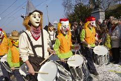 Basel (Switzerland) - Carnival 2014 Royalty Free Stock Images
