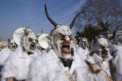 Basel (Switzerland) - Carnival 2014 Stock Photo