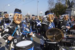 Basel (Switzerland) - Carnival 2014 Stock Image