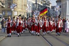 Basel (Switzerland) - Carnival 2013 Stock Photo