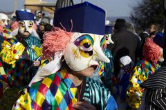 Basel (Switzerland) - Carnival 2013 Stock Photos