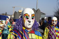 Basel (Switzerland) - Carnival 2013 Stock Photography