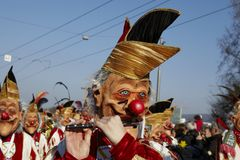 Basel (Switzerland) - Carnival 2013 Royalty Free Stock Images