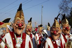 Basel (Switzerland) - Carnival 2013 Royalty Free Stock Photos