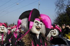 Basel (Switzerland) - Carnival 2013 Royalty Free Stock Image