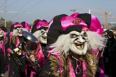 Basel (Switzerland) - Carnival 2013 Stock Image