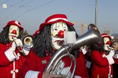 Basel (Switzerland) - Carnival 2013 Stock Photo