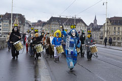 Basel (Switzerland) - Carnival 2016 Stock Images