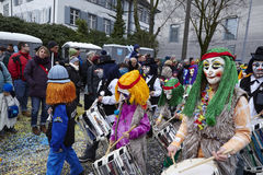 Basel (Switzerland) - Carnival 2016 Royalty Free Stock Images