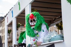 Carnival of Basel 2019 royalty free stock image