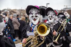 Carnival of Basel 2019 stock photo