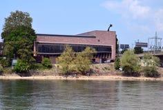 Basel - Tinguely museum f.m. Rhein Fotografering för Bildbyråer