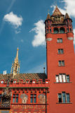 Basel Town Hall Royalty Free Stock Images