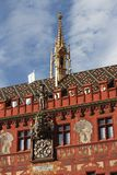 Basel Town Hall Stock Photo