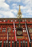 Basel Town Hall facade Royalty Free Stock Photo