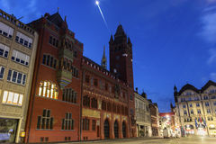 Basel Town Hall in Switzerland Royalty Free Stock Images