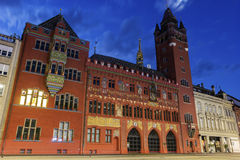 Basel Town Hall in Switzerland Royalty Free Stock Photo