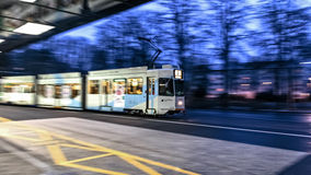 Basel Tram Royalty Free Stock Images