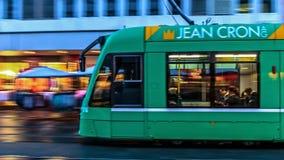 Basel Tram Stock Image