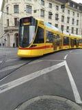 Basel tramwaj zdjęcie stock